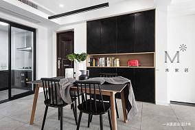 典雅89平宜家三居实景图厨房1图现代简约餐厅设计图片赏析