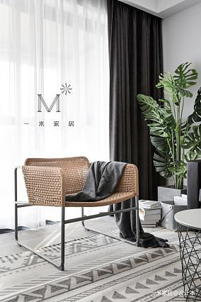 典雅78平宜家三居图片欣赏客厅2图现代简约客厅设计图片赏析