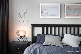 浪漫110平宜家三居装修案例卧室1图现代简约卧室设计图片赏析