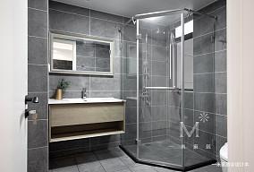 明亮109平宜家三居实景图卫生间现代简约卫生间设计图片赏析