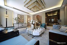 精致121平中式四居客厅装修美图
