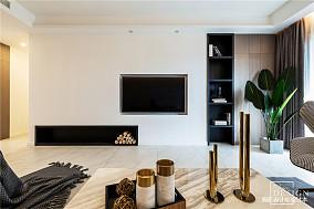 悠雅140平现代四居客厅装饰图片