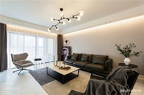 温馨152平现代四居客厅实拍图
