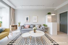 201987平北欧二居客厅实景图片