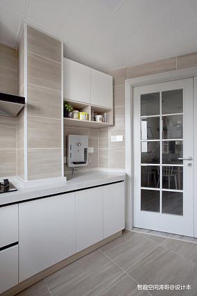 优雅60平北欧二居厨房装修图