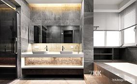 精美976平简约别墅卫生间装修图卫生间设计图片赏析