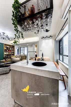 轻奢119平北欧四居餐厅装修图四居及以上北欧极简家装装修案例效果图