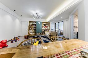 悠雅144平北欧四居客厅布置图四居及以上北欧极简家装装修案例效果图
