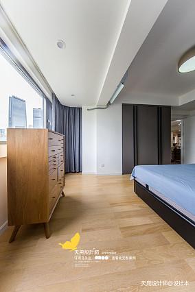浪漫158平北欧四居卧室装修设计图四居及以上北欧极简家装装修案例效果图