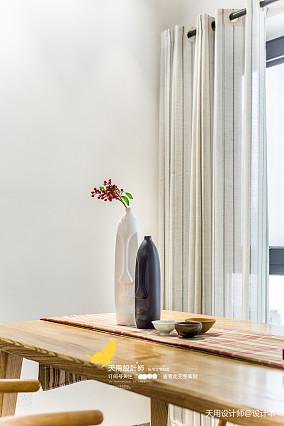 优美107平北欧四居餐厅案例图四居及以上北欧极简家装装修案例效果图