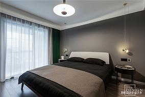 温馨80平北欧三居卧室美图