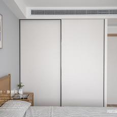 质朴84平日式三居卧室装饰图片