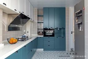 2019102平混搭三居厨房设计图
