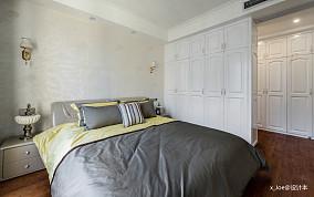 简洁98平欧式四居卧室装修案例