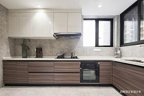 质朴116平中式三居厨房装修效果图