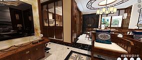 明亮386平中式别墅厨房实景图