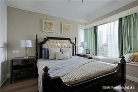 悠雅149平美式四居卧室效果图