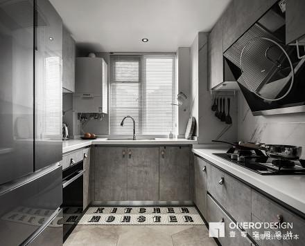温馨80平混搭二居厨房美图