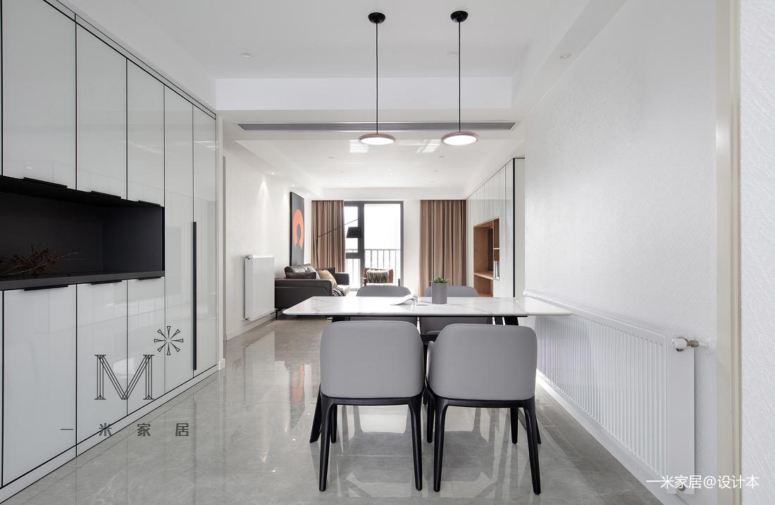 质朴74平现代二居设计美图二居现代简约家装装修案例效果图