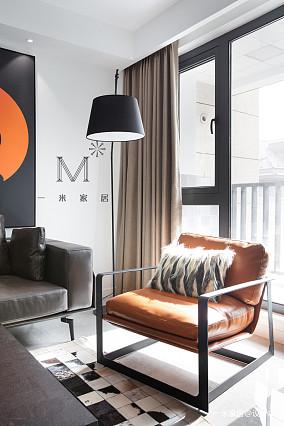 简洁63平现代二居装修效果图二居现代简约家装装修案例效果图