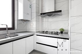 140㎡现代二居厨房设计图二居现代简约家装装修案例效果图