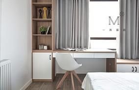 140㎡现代二居书桌设计