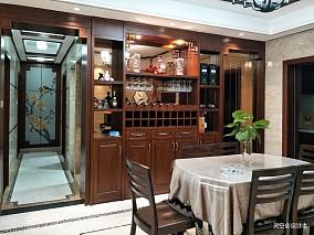 浪漫100平中式三居餐厅装饰图片