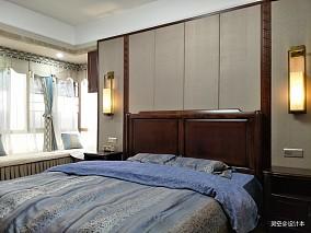 浪漫83平中式三居卧室图片大全