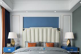 平美式四居卧室实景图片卧室美式经典设计图片赏析