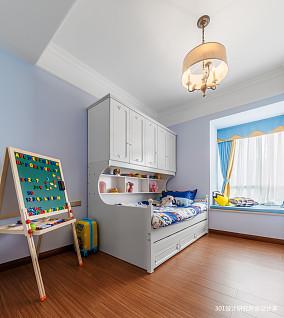 优雅72平美式二居儿童房设计美图二居美式经典家装装修案例效果图