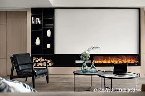 温馨128平现代四居客厅装饰图片