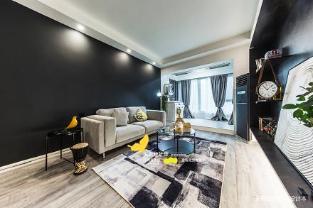 典雅72平北欧二居客厅图片大全