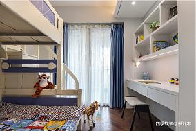 温馨159平中式四居儿童房案例图四居及以上中式现代家装装修案例效果图