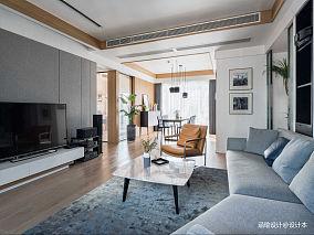 悠雅161平现代四居客厅装饰美图