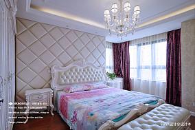 优美110平欧式四居卧室效果图片大全