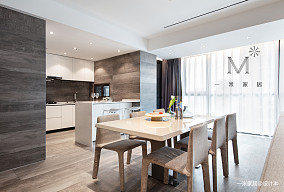 大气66平现代二居设计图二居现代简约家装装修案例效果图