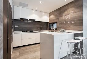 典雅60平现代二居设计案例二居现代简约家装装修案例效果图