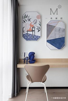【一米家居】温柔的默片时代170㎡现代二居现代简约家装装修案例效果图