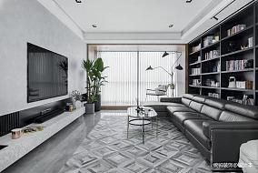 温馨95平简约三居客厅效果图欣赏