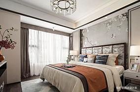 明亮151平中式四居卧室装修设计图