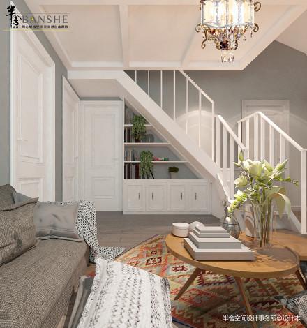 温馨28平北欧小户型客厅设计案例