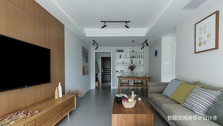 精美79平日式二居客厅设计效果图