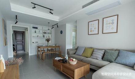 精美64平日式二居客厅设计案例
