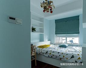 悠雅82平日式二居卧室装潢图