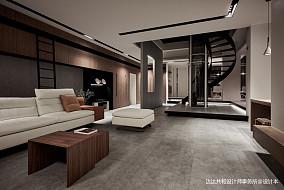 精致73平现代复式客厅装修案例