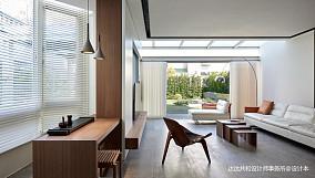 简洁71平现代复式客厅装修美图