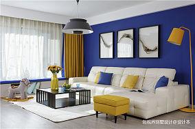 华丽200平现代四居客厅装修装饰图