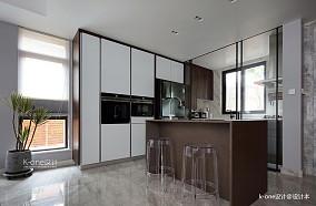 华丽246平简约别墅厨房设计效果图