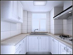 简洁97平中式三居厨房美图
