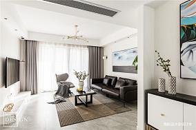 精致现代客厅实景设计